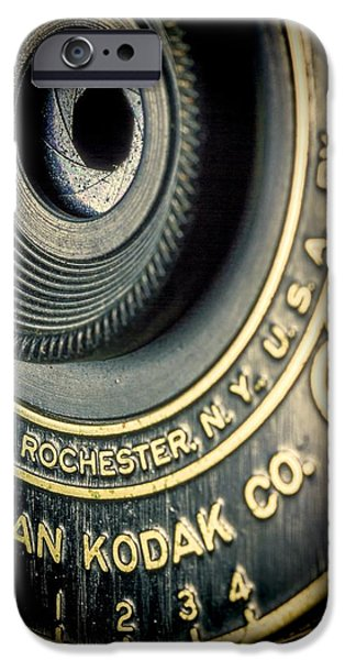 Aperture Photographs iPhone Cases - Kodak Hawkeye iPhone Case by Rudy Umans