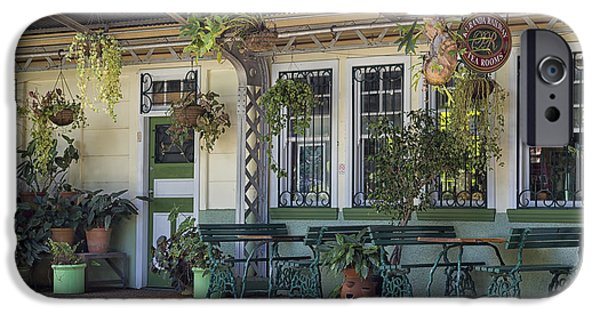 Built Structure iPhone Cases - Kuranda Station iPhone Case by Wendy Townrow