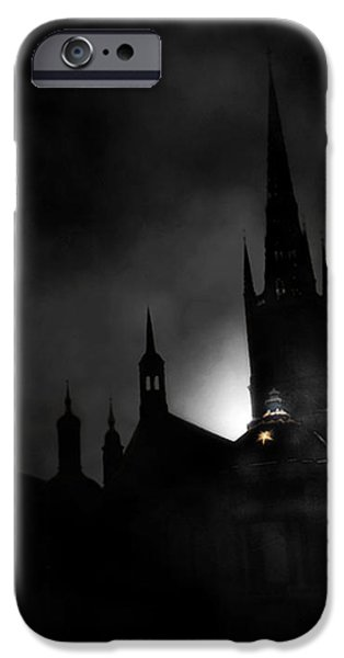 Kyrka iPhone Case by David Fox