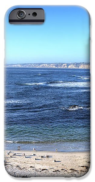La Jolla Shores iPhone Case by Eddie Yerkish