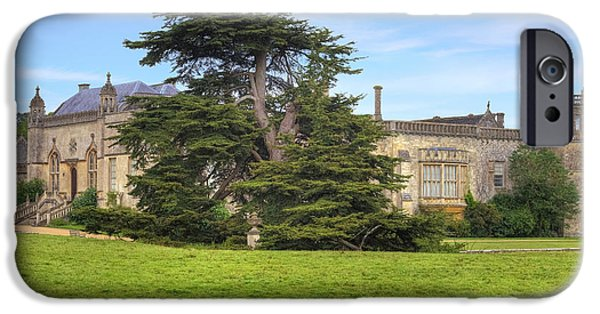 Wiltshire iPhone Cases - Lacock Abbey iPhone Case by Joana Kruse