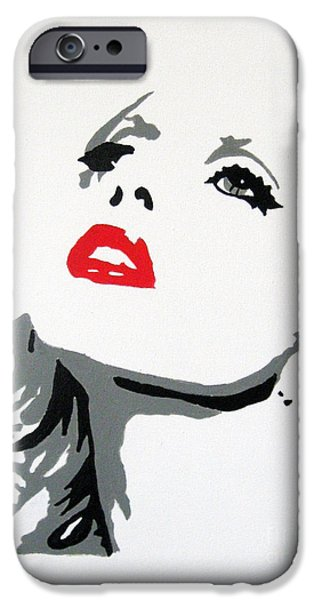 Best Buy Mixed Media iPhone Cases - Lady Gaga iPhone Case by Venus