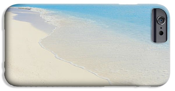 Boats In Water iPhone Cases - Laguna Maldives iPhone Case by Panoramic Images