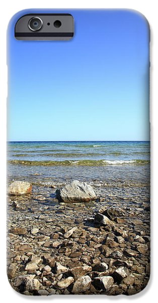 Lake Huron iPhone Case by Frank Romeo