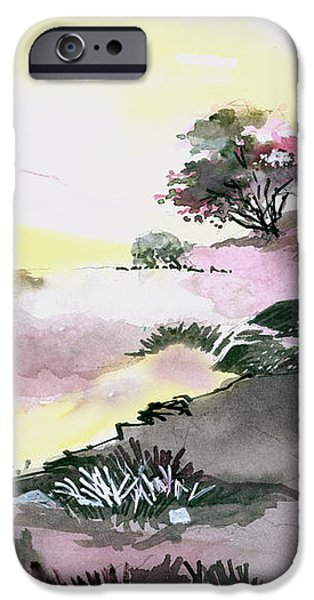 Landscape 1 iPhone Case by Anil Nene