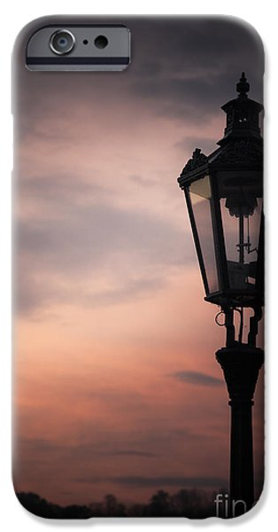 Night Lamp iPhone Cases - Lantern iPhone Case by Maria Heyens