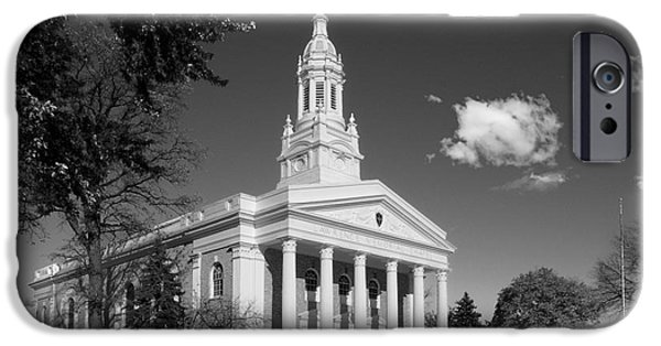Appleton Photographs iPhone Cases - Lawrence University Memorial Chapel iPhone Case by University Icons