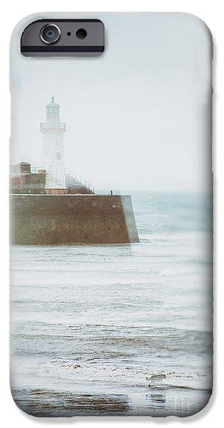 Dog Walking iPhone Cases - Lighthouse iPhone Case by Amanda And Christopher Elwell