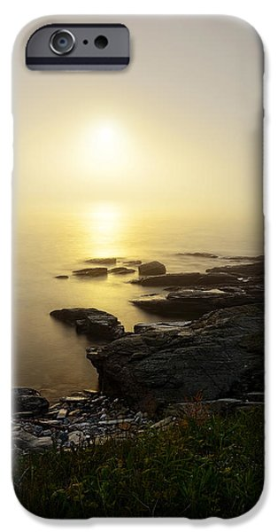 New England Landscape iPhone Cases - Limelight Of Beyond iPhone Case by Lourry Legarde