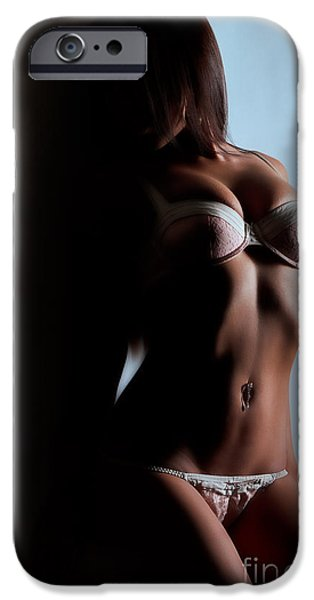 Lingerie iPhone Cases - Lingerie iPhone Case by Exposed Arts