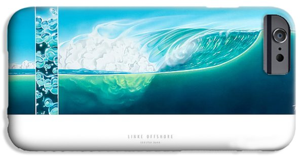 Airbrush iPhone Cases - Linke Offshore iPhone Case by Torsten Bahr
