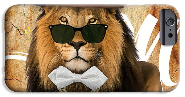 Lion iPhone Cases - Lion Collection iPhone Case by Marvin Blaine