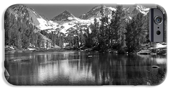 Wonderous iPhone Cases - Little Lakes Valley iPhone Case by Lynn Bauer