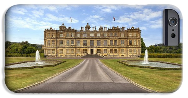 Wiltshire iPhone Cases - Longleat House  Wiltshire iPhone Case by Joana Kruse