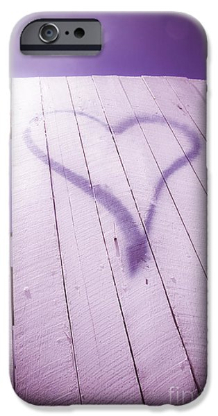 Vandalize Photographs iPhone Cases - Love Thy Neighbour iPhone Case by Ryan Jorgensen