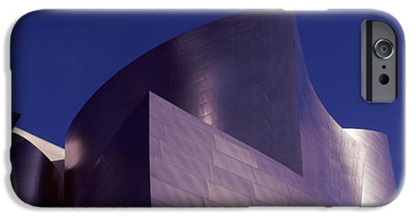 Stainless Steel iPhone Cases - Low Angle View Of A Concert Hall, Walt iPhone Case by Panoramic Images