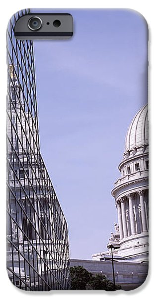 States iPhone Cases - Low Angle View Of A Government iPhone Case by Panoramic Images