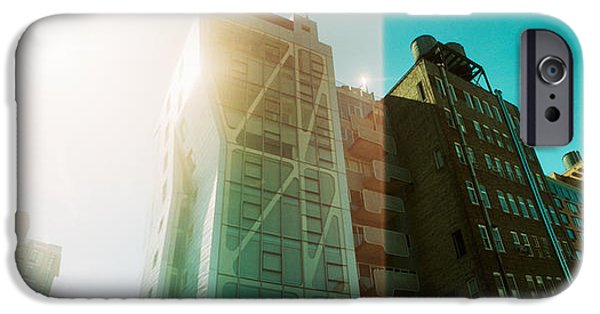 Chelsea iPhone Cases - Low Angle View Of Buildings iPhone Case by Panoramic Images
