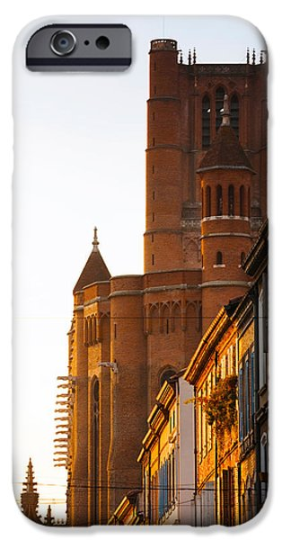 Midi iPhone Cases - Low Angle View Of Old Town Buildings iPhone Case by Panoramic Images