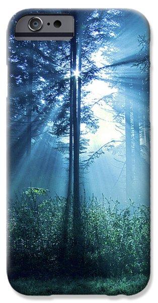 Magical Light iPhone Case by Daniel Csoka