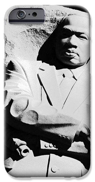 Cora Wandel iPhone Cases - Martin Luther King Memorial iPhone Case by Cora Wandel