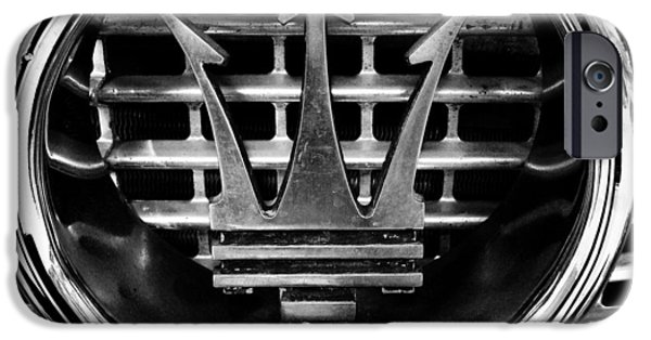 Power iPhone Cases - Maserati iPhone Case by Les Cunliffe