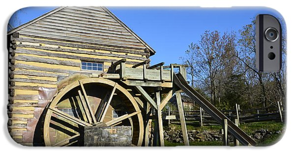 Grist Mill iPhone Cases - McCormicks Mill iPhone Case by Marie Terry