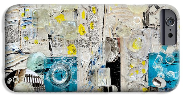 Town Sculptures iPhone Cases - Me and You Us And Them iPhone Case by Regina Valluzzi