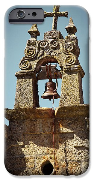 Cathedral Rock iPhone Cases - Medieval Campanile  iPhone Case by Carlos Caetano