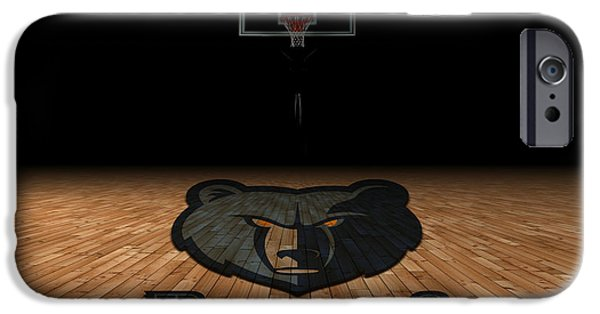 Division iPhone Cases - Memphis Grizzlies iPhone Case by Joe Hamilton