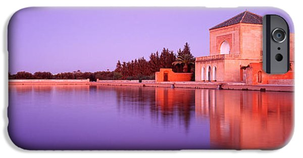 19th Century iPhone Cases - Menara, Marrakech, Morocco iPhone Case by Panoramic Images