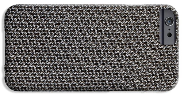 Meshed iPhone Cases - Metal Meshwork iPhone Case by Dirk Wiersma