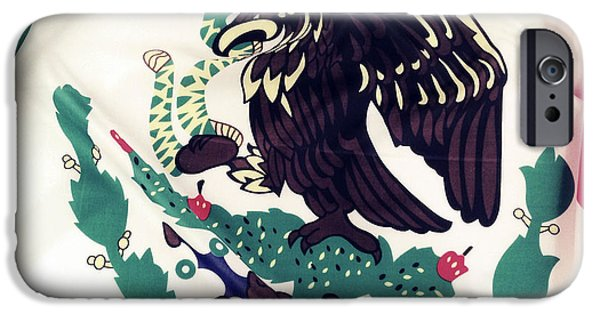 Patriotism iPhone Cases - Mexican flag iPhone Case by Les Cunliffe