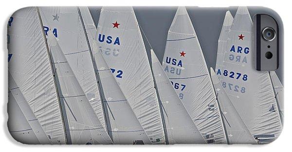 Alcatraz iPhone Cases - Miami Star Regatta iPhone Case by Steven Lapkin