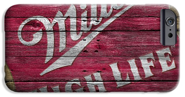 Miller iPhone Cases - Miller High Life iPhone Case by Joe Hamilton