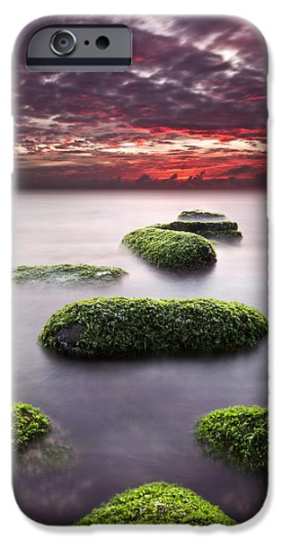 Waterscape Photographs iPhone Cases - Mind and spirit iPhone Case by Jorge Maia