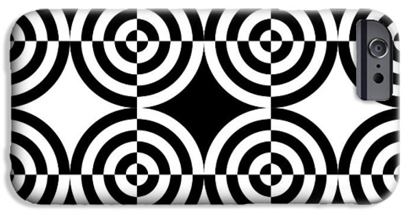 Op iPhone Cases - Mind Games 5 iPhone Case by Mike McGlothlen
