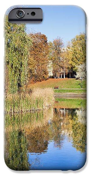 Moczydlo Park in Warsaw iPhone Case by Artur Bogacki