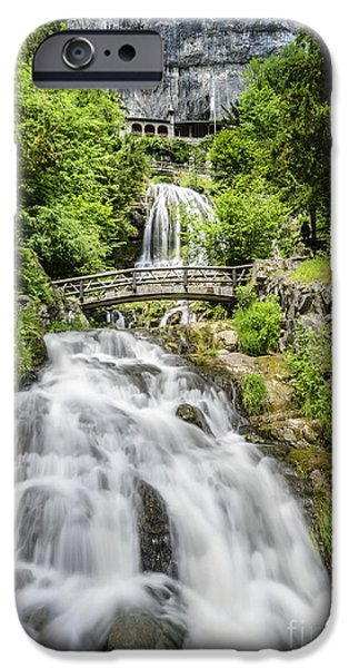 Monastery of St. Beatus iPhone Case by Oscar Gutierrez
