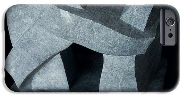 Transportation Sculptures iPhone Cases - Monolith iPhone Case by Daniel P Cronin