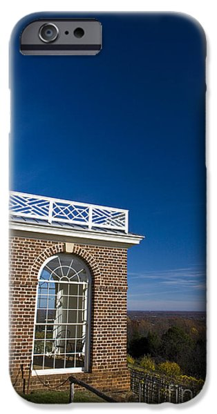 States iPhone Cases - Monticello gardens iPhone Case by Jason O Watson