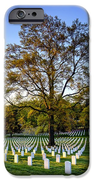 Arlington iPhone Cases - Morning Glory iPhone Case by Edward Kreis