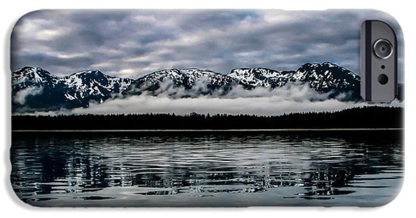 Inside Passage iPhone Cases - Morning Reflections iPhone Case by Robert Bales