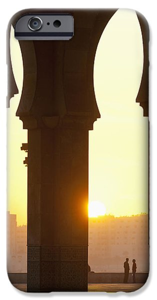 Ledge iPhone Cases - Morocco, Looking Through Arches iPhone Case by Ian Cumming