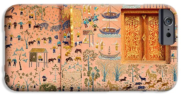 Narrative iPhone Cases - Mosaic, Wat Xien Thong, Luang Prabang iPhone Case by Panoramic Images