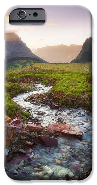 Peter Coskun iPhone Cases - Mountain Flow iPhone Case by Peter Coskun