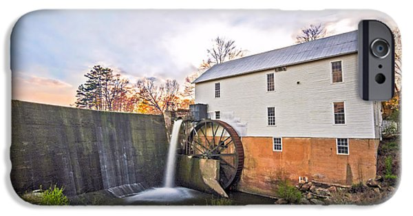 Grist Mill iPhone Cases - Murrays Mill iPhone Case by Marion Johnson