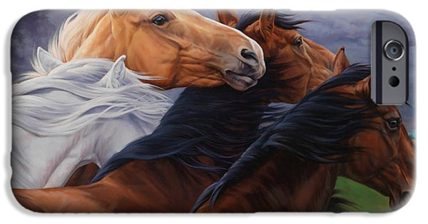 Equestrian iPhone Cases - Mutual Support iPhone Case by JQ Licensing