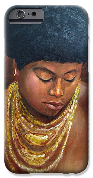 Naomi iPhone Case by DOMINIC GIGLIO