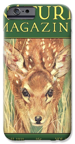 Antiques iPhone Cases - Nature Magazine iPhone Case by Gary Grayson